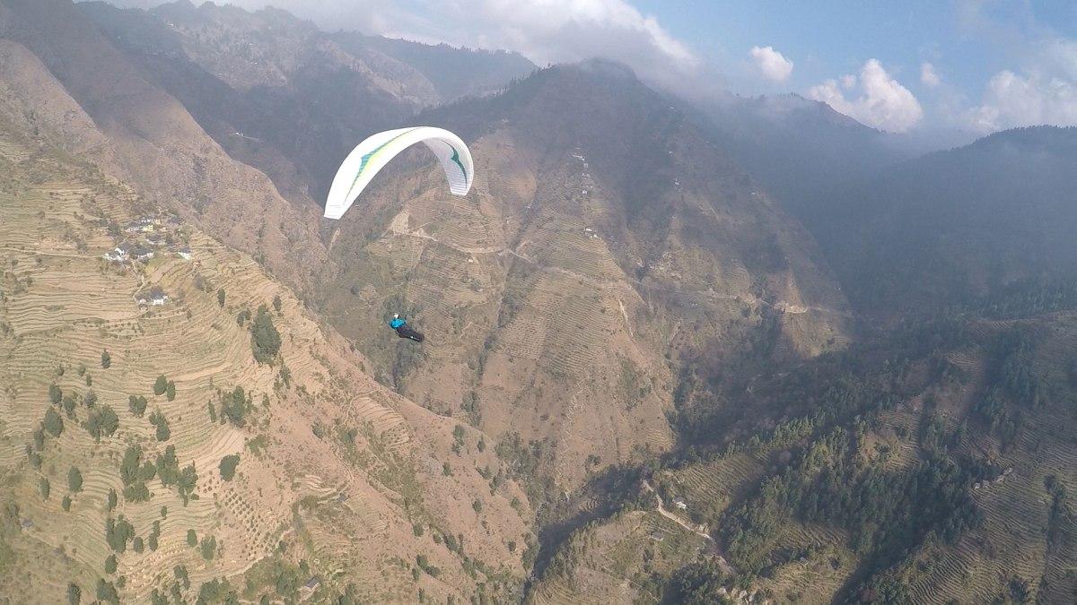 450 km de Vol bivouac en Inde c'est fait !
