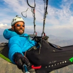 450 km de Vol Bivouac en inde – le récit